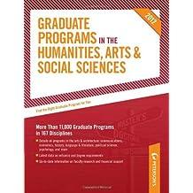 Graduate Programs in the Humanities, Arts & Social Sciences 2012 (Grad 2) (Peterson's Graduate Programs in the...