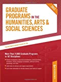 Graduate Programs in the Humanities, Arts and Social Sciences 2012 (Grad 2), Peterson's Publishing Staff, 0768932815