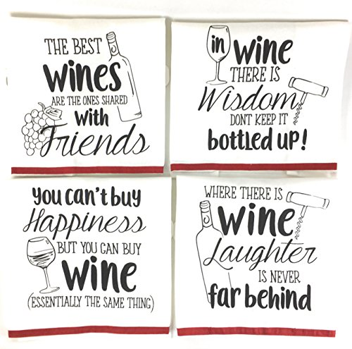 Funny Sayings Kitchen Towels Loops product image