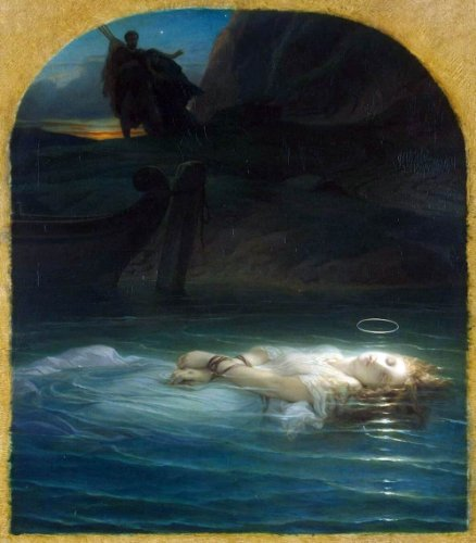Paul Delaroche Young Christian Martyr - 24'' x 30'' 100% Hand Painted Oil Painting Reproduction by Art Oyster