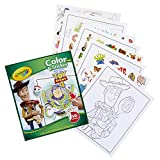 Crayola Toy Story 4 Coloring Pages & Stickers, Gift for Kids, Age 3, 4, 5, 6, 7, Multi: more info