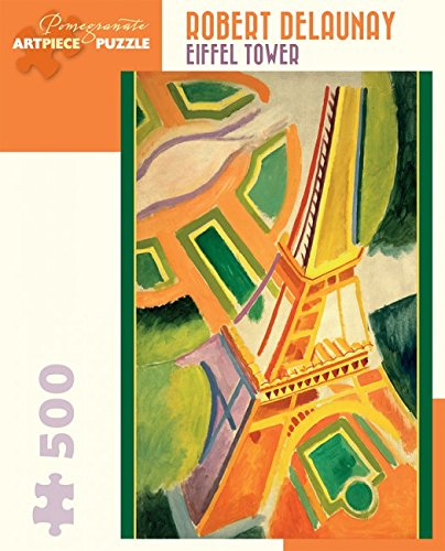 (Robert Delaunay Eiffel Tower 500 Piece Jigsaw Puzzle Aa935)