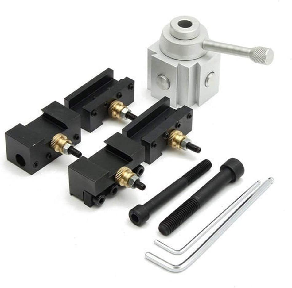 MLH-MLH Mini Lathe Quick Change Multifid Tool Post and Holder Kit For Lathe Processing Metal Lathes Lathe Tools