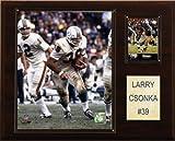 NFL Larry Csonka Miami Dolphins Player Plaque