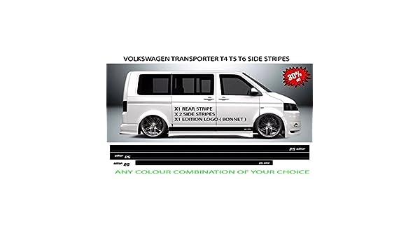 TSG Lote de Pegatinas para Volkswagen T4 T5 T6 Front Edition, 25 Unidades: Amazon.es: Coche y moto
