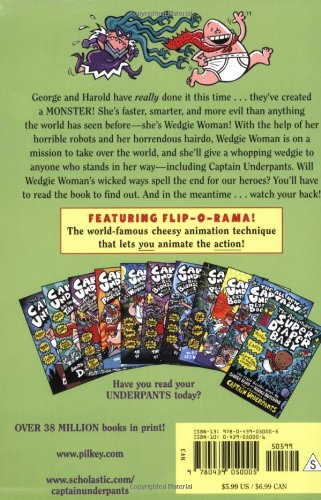 The Second Captain Underpants Collection (Books 5-7 & The Adventures of Super Diaper Baby) by Scholastic (Image #1)