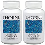 Basic B Complex - Thorne Research - 60 Vegetarian Capsules (Pack of 2)