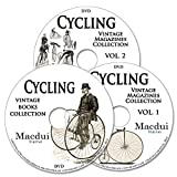 Cycling Vintage Books & Magazine Collection 153 PDF E-Books on 3 DVD's Bicycle, Tricycle, practical plating and polishing, bicycles catalogues, star rider's manual, development of bicycles, development of tricycles, bicycle training