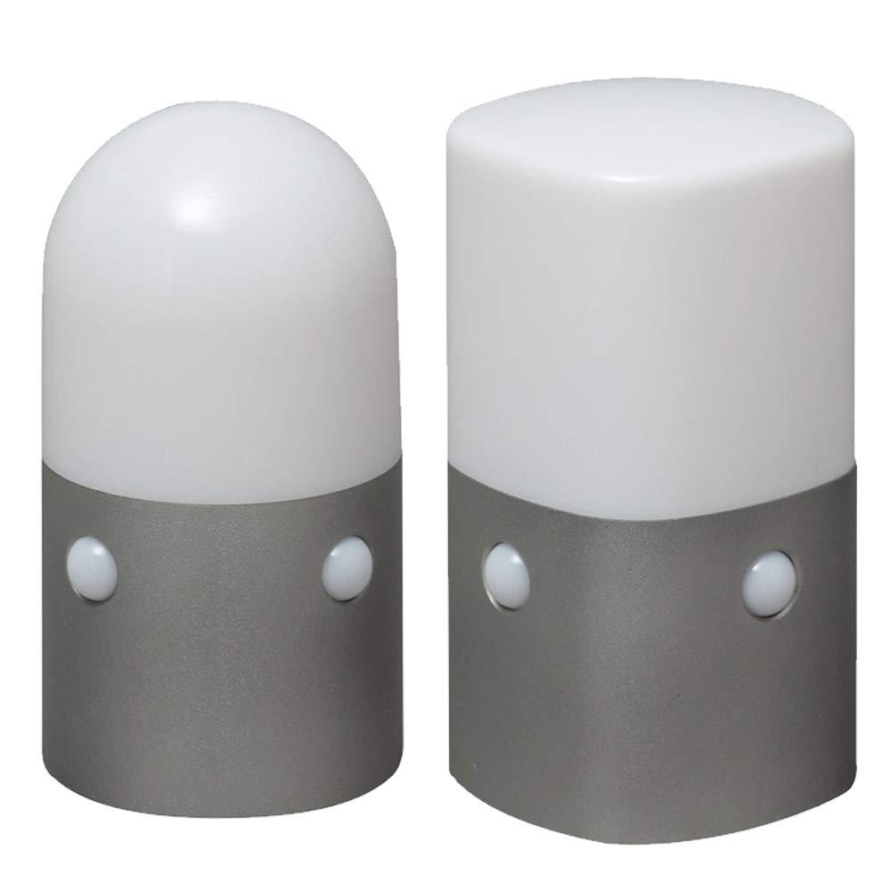 【セット販売】アイリスオーヤマ 屋外センサーライト スタンドタイプ 角型 角型 丸型 電球色 OSL-ML2K-WS & 電球色 アイリスオーヤマ 屋外センサーライト スタンドタイプ 丸型 電球色 OSL-ML2-MWS セット 2)電球色 B07P3C1PKR, 芦屋スタイル モア:2e3edeb6 --- krianta.ru