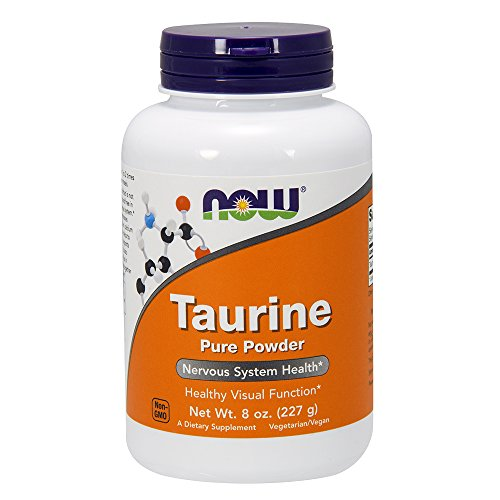 Taurine Powder 8 Ounces (Pack of 2)