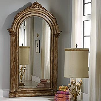 Amazon.com: Hooker Furniture Melange Vera Floor Mirror with Jewelry ...