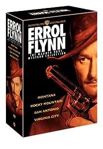 Errol Flynn Westerns Collection (Montana / Rocky Mountain / San Antonio / Virginia City)