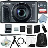 Canon Powershot SX730 HS Bundle (Black)+ Canon SX730 HS Deluxe Accessory Kit - Including EVERYTHING You Need To Get Started