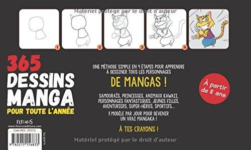 Amazon Fr 365 Dessins Manga Pour Toute L Annee Van Huy Ta Livres