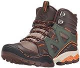 Jambu Vulcan Waterproof Boot (Little Kid/Big Kid), Brown/Forest Green, 11 M US Little Kid