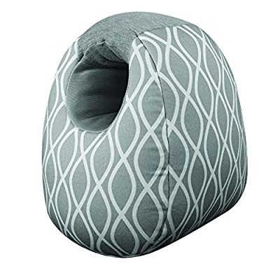 Itzy Ritzy Milk Boss Infant Feeding Support Breastfeeding and Bottle Feeding Pillow, Platinum Helix