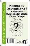 Kennst du Deutschland?: Bundesländer, Städte, Flüsse, Gebirge (3. und 4. Klasse)