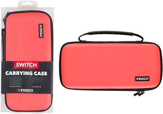 Indeca - Bolsa Gaming, Color Rojo Neon 2019 (Nintendo Switch ...