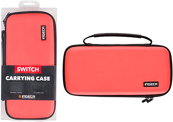 Indeca - Bolsa Gaming, Color Rojo Neon 2019 (Nintendo Switch ...
