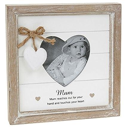 Amazon.com: Provence Message Heart Frame: Mum: Home & Kitchen