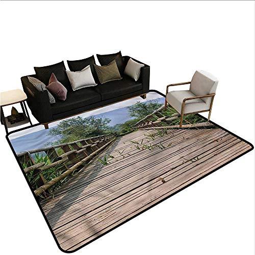 (Landscape,Kids Bedroom Mats Decorative 36
