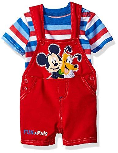 Disney Baby Boys Piece Mickey Shortall