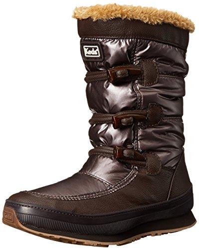 Keds Womens Powder Puff Waterproof Snow Boot Brown ySQyN