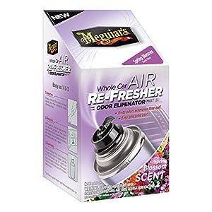 Meguiar's G16802 Whole Car Air Refresher Odor Eliminator (Spring Blossom Scent), 2.5 oz.