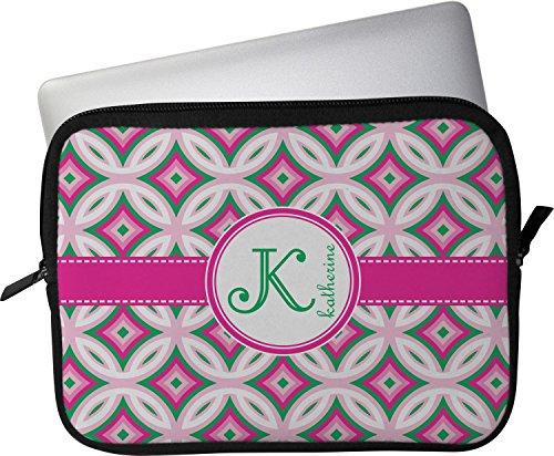 Cheap  Linked Circles & Diamonds Laptop Sleeve/Case - 14.25