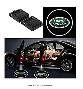 Ephvan 2 Pcs Wireless Car Door Led Welcome Laser Projector Logo Light Ghost Shadow Light Lamp Logos for chevrolet