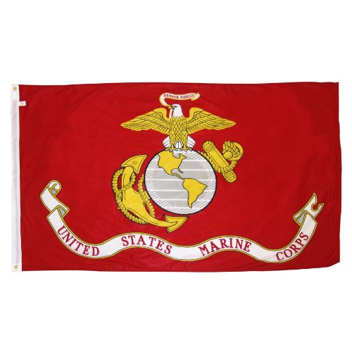 Online Stores Superknit Polyester Marine Corps Flag  3 By 5 Feet
