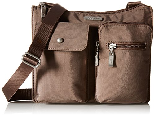 Portobello Sleek Multi and Bag Everything Slim Bag with Lightweight Crossbody Travel Pocketed Baggallini Wristlet Removable �C WfpZgqaWA
