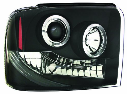 IPCW CWS-511B2 Ford Super Duty 2005 - 2007 Head Lamps, Projector Black B006BURQG4