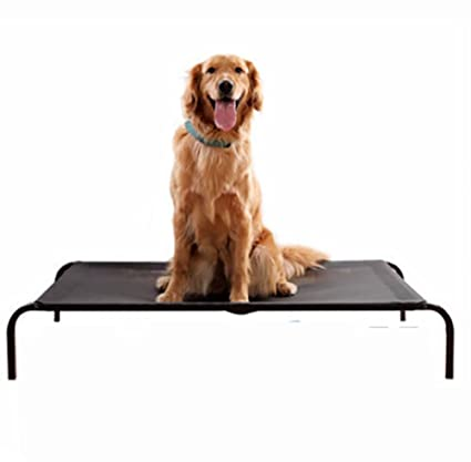 MEIQI Dog Cot | Elevated Pet Bed | Mesh | Variety of Sizes,Large