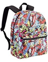 Marvel Comics Classic Characters Standard Size School Backpack - Kids