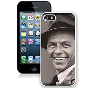 Beautiful Designed Cover Case With Frank Sinatra Smile Suit Hat Face (2) For iPhone 5S Phone Case
