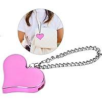 130DB Alarma de seguridad, Alarma de Emergencia Portátil autodefensa del Protector sirena para mujeres, niños(Pink)