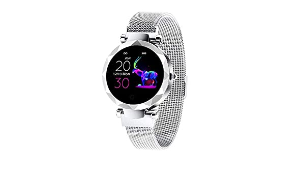 Amazon.com: NOMENI Smart Watch Fitness Tracker Female Blood ...
