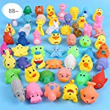 comfi1 Animals Kids Toy Soft Vinyl Float Sqeeze Sound Baby Wash Bath Play Toy