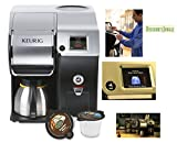 Keurig Bolt Coffee Maker And Coffee Machine Stainless Steel Office Commercial Brewing System And Personal Brewing System Works With Regular K-cups
