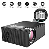 Mini Projector,ifmeyasi Home Theater Video Projector with 1080P Supported, for Home Cinema Theater/Computer/TV/Laptop/Gaming/SD/iPad iPhone/Android Smartphone