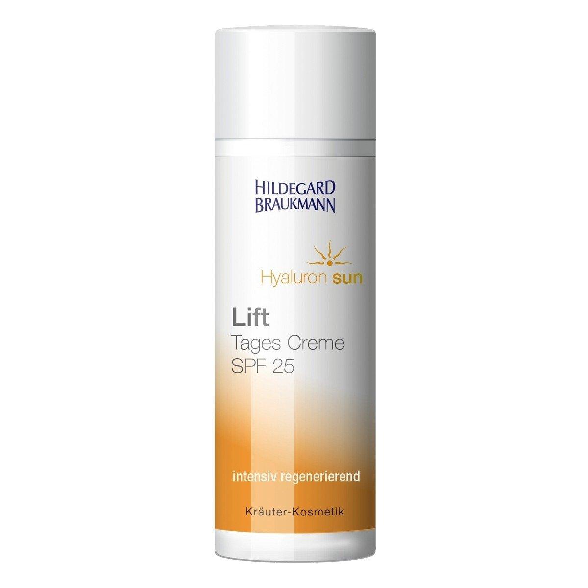 Hildegard Braukmann Hyaluron Sun Lift Tages Creme Lichtschutzfaktor 25, 1er Pack (1 x 50 ml) 4016083003674