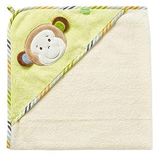 Monkey Donkey 80 x 80cm Fehn Hooded Bath Towel Monkey