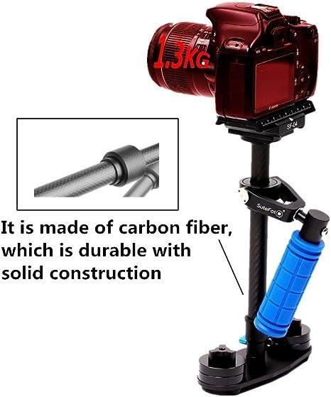 Sutefoto de fibra de carbono profesional ajustable cámara de vídeo ...