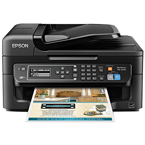 Epson WorkForce 2630 Inkjet Multifunction Printer - Plain Paper Print by Epson