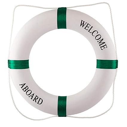 RONGFANGGUO Piscina Marino Profesional Adulto Sólido Lifebuoy Engrosamiento Anillo de natación Lifebuoy para niños Chicos Chicas