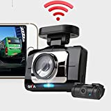 Lukas Qvia R975 WI-FI Two Channel Dash Camera with GPS + ...