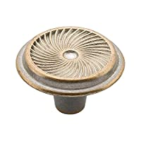 Knobware C3565 Swirl Knob, 1.25-Inch, Lallique Copper