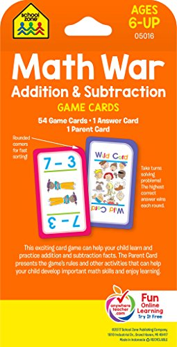 how to play math war card game