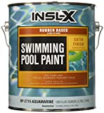 Best Pool Paints - COMPLEMENTARY COATINGS CR2619092-01 INSL-X Aquamarine Chlorinated Rubber Swimming Review